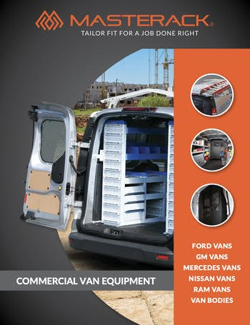 Masterack Van Equipment Special Order Guide