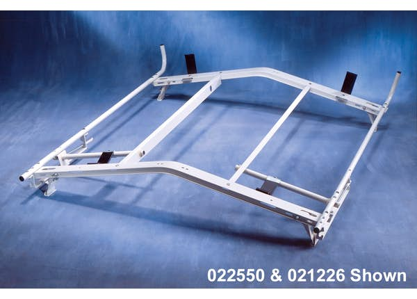 LOCKING LADDER RACK UPGRADE FOR STEP/COMBINATION LADDERS - FULL SIZE VANS