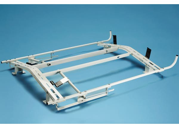 """LOCKING LADDER RACK UPGRADE FOR STEP/COMBINATION LADDERS -TRANSIT CONNECT G2 (121""""WB)"""