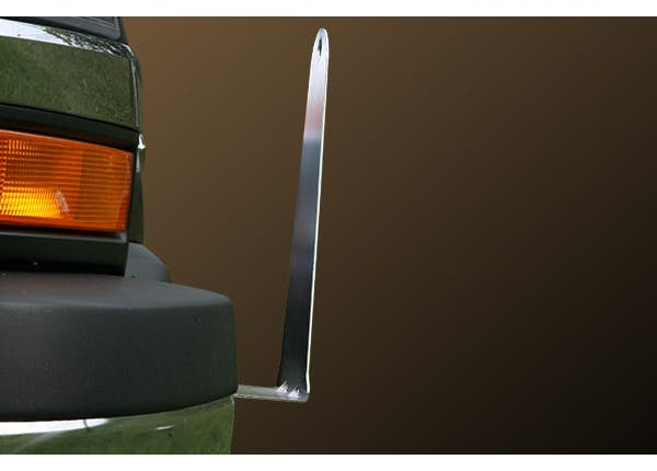BUMPER MOUNTED SAFETY CONE HOLDER