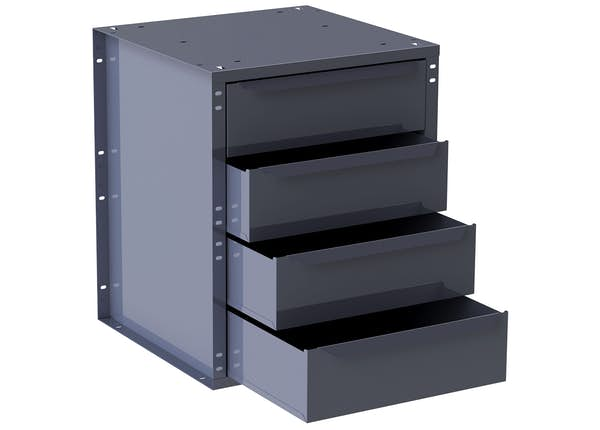 4-DRAWER CABINET, LARGE
