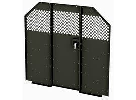 Steel Partition w/ Locking Door - Full Size Vans