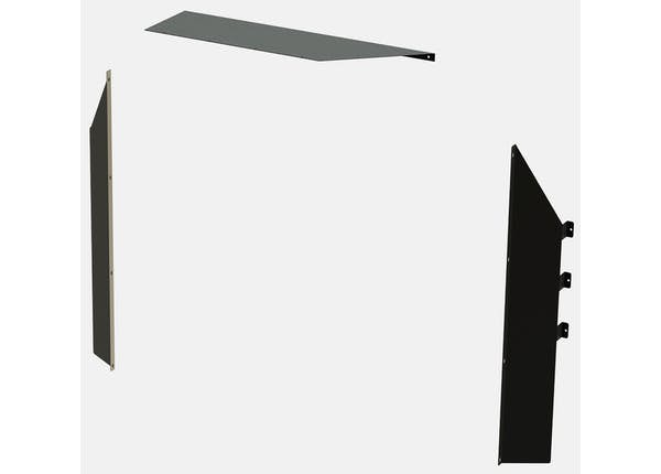 Steel Attachment Panel- GM Express / Savana