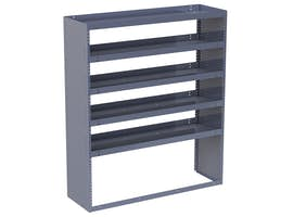 "Steel Shelving Module - 60"" Wide"