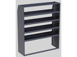 Tapered Steel Shelving Module - 60x51x16