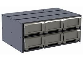 COMPOSITE PARTS DRAWER CABINET - 6-DRAWER