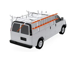 UPLYFT DOUBLE LADDER RACK STANDARD SLIDE-DOWN - GMC SAVANA