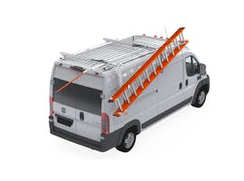 UPLYFT SINGLE LADDER RACK EXTENDED SLIDE-DOWN LWB - RAM PROMASTER Medium & High Roof