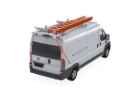 UPLYFT DOUBLE LADDER RACK EXTENDED SLIDE-DOWN LWB - RAM PROMASTER Medium & High Roof
