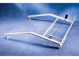 "SINGLE LOCKING LADDER RACK - FORD TRANSIT LOW ROOF (130""WB)"