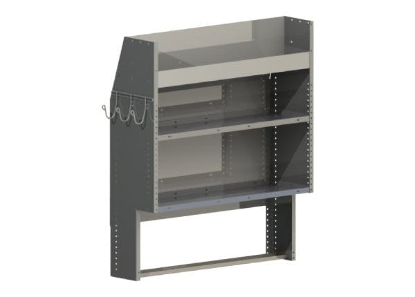 Steel Shelving Module - 44""