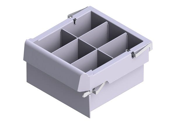 SMARTSPACE LARGE DRAWER W/ DIVIDERS - 6""